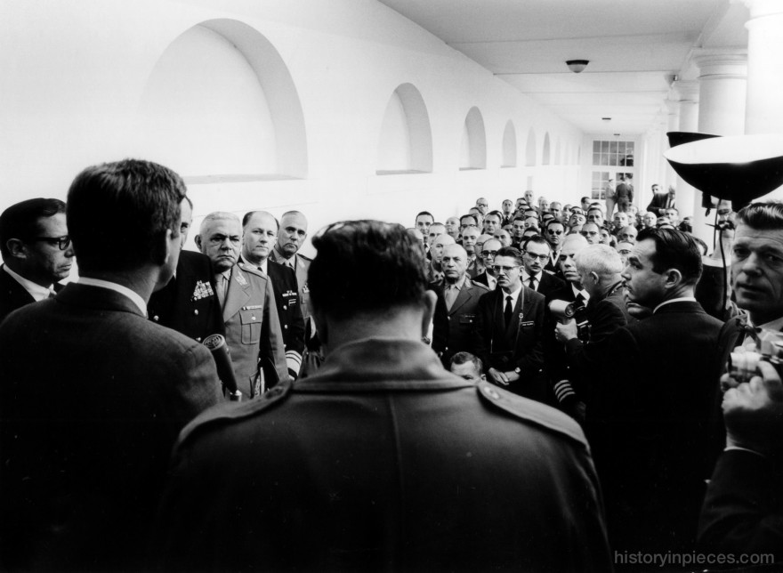 JFK Meets with Brazilian War College