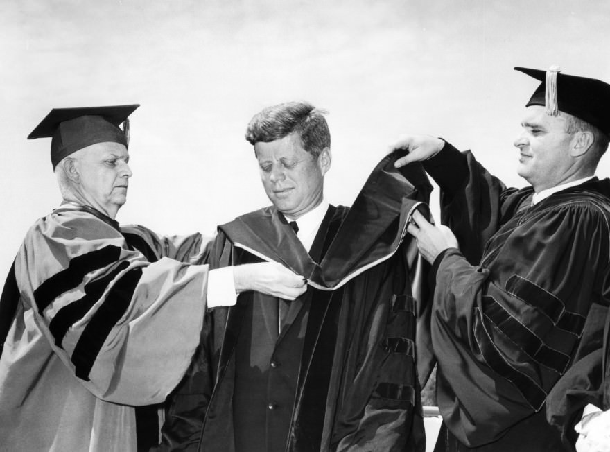 JFK's American University Speech