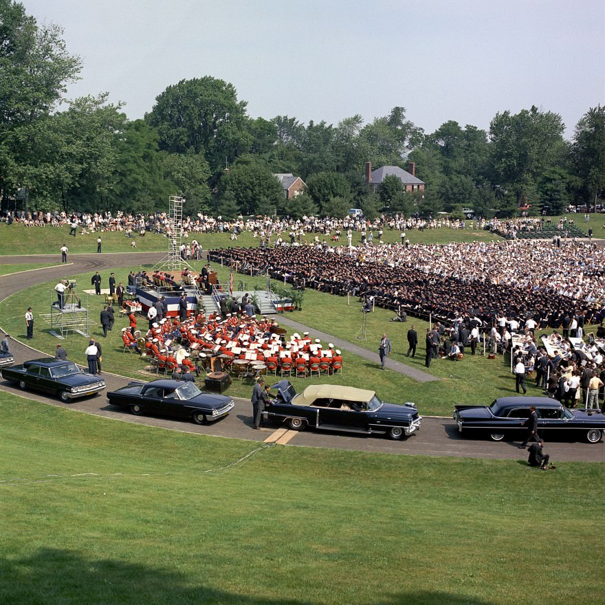 JFK's Commencement Address at American University