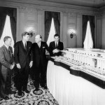 JFK Inspects a Model of the Kennedy Center - 8 October 1963