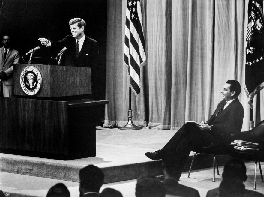 JFK's 60th Press Conference - 8/20/1963