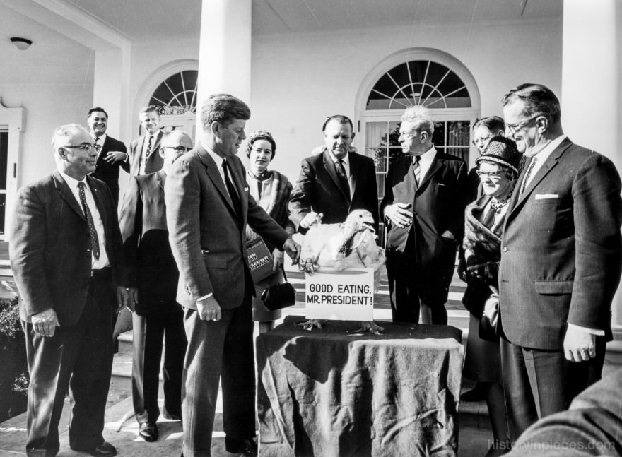 Thanksgiving at the White House 1963