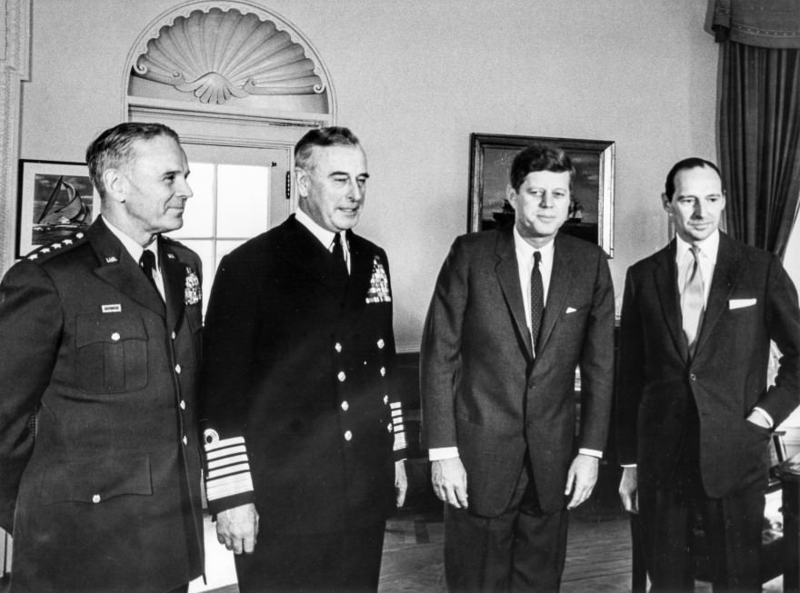 JFK Meets with the Earl Mountbatten - 6 February 1963